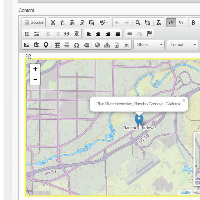 Leaflet Maps in Mura CMS 6.2 - Mura Digital Experience Platform